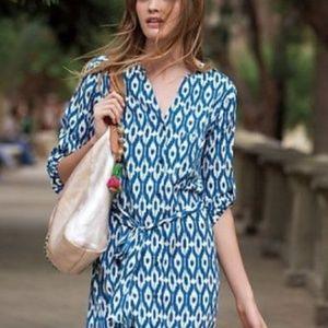 Maeve ikat shirt dress